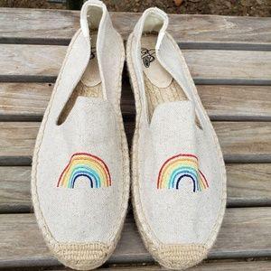 🆕️Soludos X Embroidered Rainbow Espadrilles 10